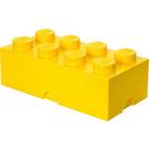 LEGO 8 stud Yellow Storage Brick (5001267)