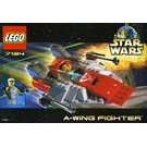 LEGO A-wing Fighter Set 7134