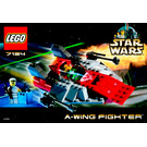 LEGO A-wing Fighter Set 7134 Instructions