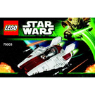 LEGO A-wing Starfighter Set 75003 Instructions