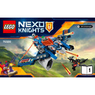 LEGO Aaron Fox's Aero-Striker V2 Set 70320 Instructions
