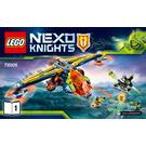 LEGO Aaron's X-bow Set 72005 Instructions