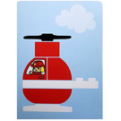 LEGO Activity Card 1- Fire Helicopter (6344095)