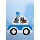LEGO Activity Card 2 - Police Auto
