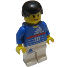 LEGO Adidas Number 10 Zidane Soccer Player Minifigure