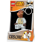 LEGO Admiral Ackbar Key Chain LED Light