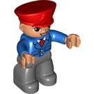 LEGO Adult Figure 11 - Train Conductor Duplo Figure