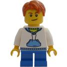 LEGO Advent Calendar Boy with White Hoodie Minifigure