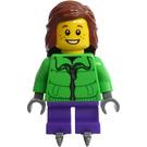 LEGO Advent Calendar Girl with Ice Skates Minifigure