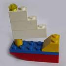 LEGO Advent Calendar Set 1298-1 Subset Day 5 - Sailboat