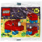 LEGO Advent Calendar Set 2250-1 Subset Day 14 - Rhinocerous