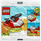 LEGO Advent Calendar Set 2250-1 Subset Day 23 - Helicopter