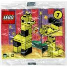 LEGO Advent Calendar Set 2250-1 Subset Day 7 - Giraffe