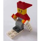 LEGO Advent Calendar Set 4924-1 Subset Day 9 - Skiing Elf