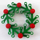 LEGO Advent Calendar Set 7600-1 Subset Day 22 - Festive Wreath