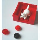 LEGO Advent Calendar Set 7600-1 Subset Day 8 - Kitten