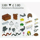 LEGO Adventure Accessories Set 5381