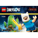 LEGO Adventure Time Level Pack Set 71245 Instructions