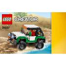 LEGO Adventure Vehicles Set 31037 Instructions