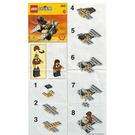 LEGO Adventurers Aeroplane Set 2542 Instructions
