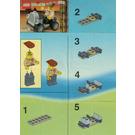 LEGO Adventurers Car Set 3055 Instructions