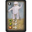 LEGO Adventurers Orient Expedition Game Card Yety