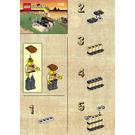 LEGO Adventurers Raft Set 1182 Instructions
