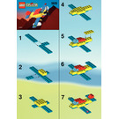 LEGO Aeroplane Set 1809 Instructions