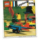 LEGO Aeroplane Set 609 Instructions