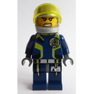 LEGO Agent Charge with Helmet Minifigure