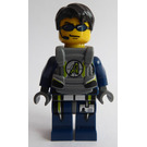 LEGO Agent Chase with Body Armor Minifigure
