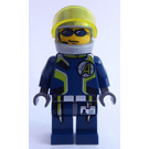 LEGO Agent Chase with Helmet Minifigure