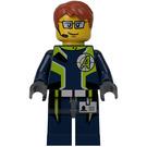 LEGO Agent Fuse Minifigure