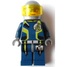 LEGO Agent Fuse with Helmet Minifigure