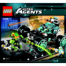 LEGO Agent Stealth Patrol Set 70169 Instructions