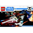 LEGO Ahsoka's Starfighter and Vulture Droid Set 7751 Instructions