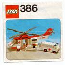 LEGO Air Ambulance Set 386 Instructions