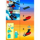 LEGO Air Patrol Set 1068 Instructions