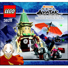 LEGO Air Temple Set 3828 Instructions