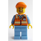 LEGO Aircraft Baggage Truck Driver Minifigure