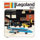 LEGO Aircraft Set 657 Instructions