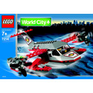 LEGO Airline Promotional Set 7214 Instructions