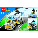 LEGO Airport Rescue Truck Set 7844 Instructions