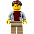 LEGO Airport Terminal Male Passenger Minifigure