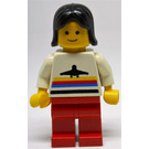 LEGO Airport Worker with Red Legs Minifigure