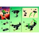 LEGO Alien Jet Set 5617 Instructions
