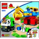 LEGO Alien Space Crane Set 5691 Instructions