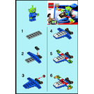 LEGO Alien Space Ship Set 30070 Instructions