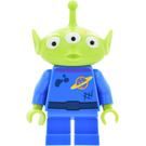 LEGO Alien with Dirt Stains and Yellow Paint Stain Minifigure