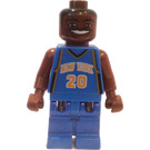 LEGO Allan Houston, New York Knicks, Road Uniform Minifigure #20